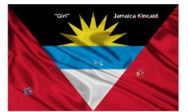 """""""Girl"""" - Jamaica Kincaid"""