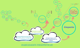 HABILIDADES TERAPEUTICAS