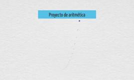 Proyecto de aritmética