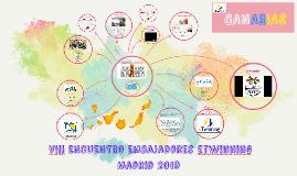 """""""VIII Encuentro Embajadores eTwinning 2019"""" Canarias."""