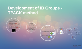 Developing IB Groups with TPACK
