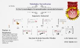 La metrología y la normalización a través de la historia