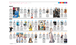 Observer Spring Calendar 2013