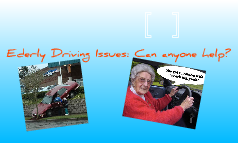 Elderly Driving Issues
