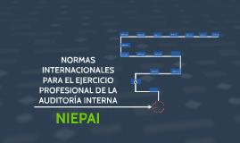 NORMAS INTERNACIONALES PARA EL EJERCICIO PROFESIONAL DE LA A