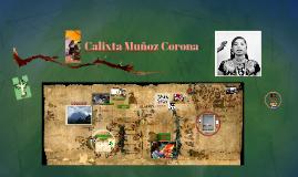 Calixta Muñoz Corona