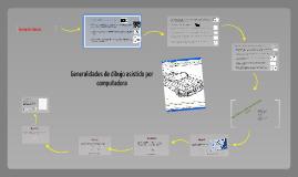 Generalidades de dibujo asistido por computadora