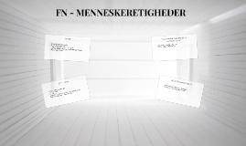 FN - MENNESKERETIGHEDER