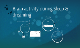 brain activity during sleep They help describe the changes we see in brain activity during alpha activity to get to sleep of the brain by using the eeg to see our brain waves.