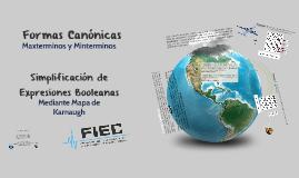 Formas Canónicas y Simplificación