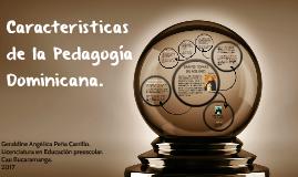 Pedagogía Dominicana.