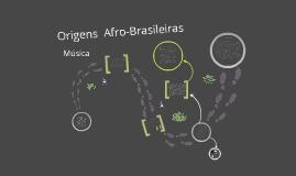 Música De Origem Afro-Brasileira