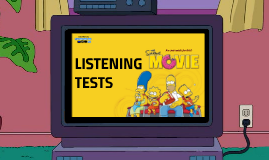 LISTENING TESTS PART II