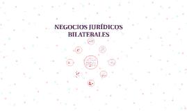 NEGOCIOS JURÍDICOS BILATERALES