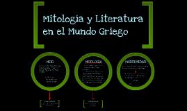 Mitologia y Literatura en el Mundo Griego
