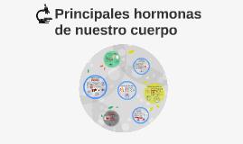 Principales hormonas de nuestro cuerpo
