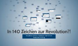 In 140 Zeichen zur Revolution?!