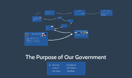 The Purpose of Our Government
