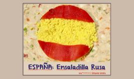 Curso de Cocina Hispana - Ensaladilla Rusa
