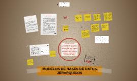 MODELOS DE BASES DE DATOS JERARQUICOS