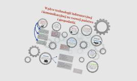Wpływ technologii informacyjnej