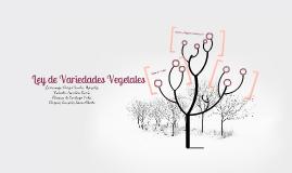 Ley de Variedades Vegetales