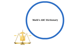 Math's ABC Dictionary