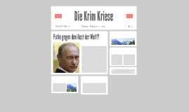 Die Krim Krise