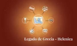 Legado de Grecia - Helenica