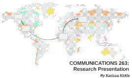 COMMUNICATIONS 263: Research Presntaion