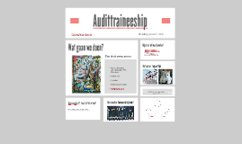Audittraineeship jan 2016