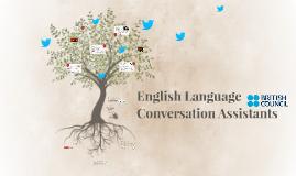 English Language Conversation Assistants