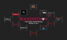 BuckeyeThon Team Captain Event