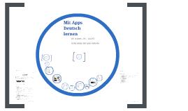 Mit Apps Deutsch lernen