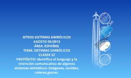 LOS OTROS SISTEMAS SÍMBOLICOS