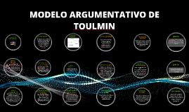 Copy of MODELO ARGUMENTATIVO DE TOULMIN