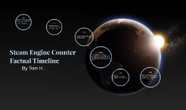 Steam Engine Counter Factual Timeline