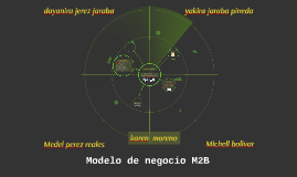 modelo de negocio M2B