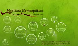 Medicina Homeopática.
