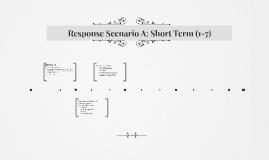 Response Scenario A: Short Term (1-7)
