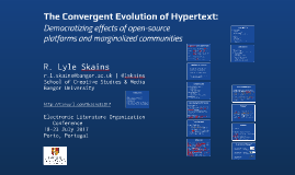 The Convergent Evolution of Hypertext