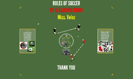 Copy of RULLES OF SOCCER