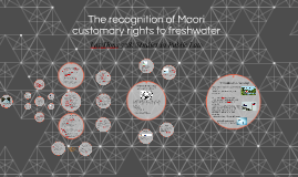 The recognition of Maori customary rights to freshwater