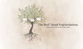 The Beef About Vegetarianism