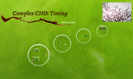 Complex CHO: Timing