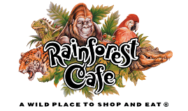 Rainforest Cafe es una cadena de restaurantes temáticos, fun