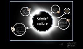 Selectief Mutisme