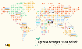 """Agencia de viajes """"Ruta del sol"""""""