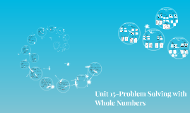 Unit 15-Problem Solving with Whole Numbers
