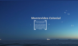 Copy of Montevideo Colonial
